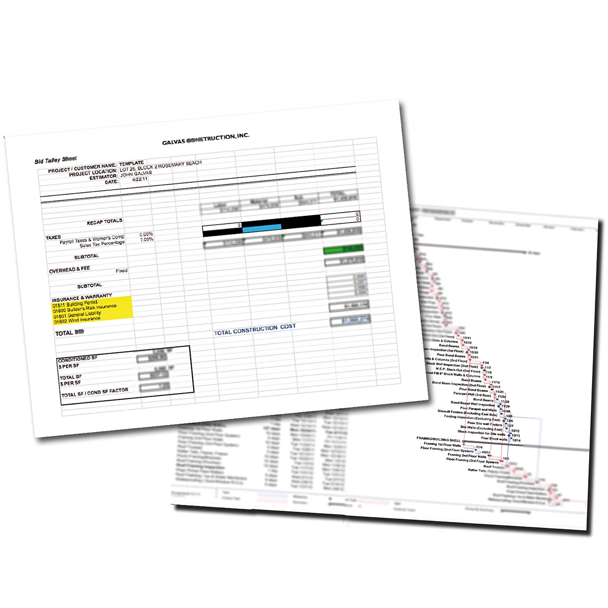 Galvas Construction - On Budget